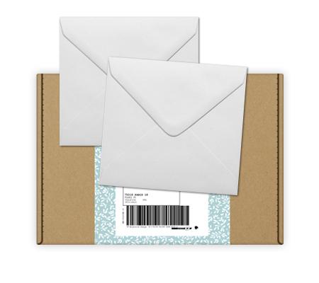 Vos enveloppes pour vos faire-part de naissance en avance