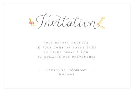 Invitation mariage Dioton