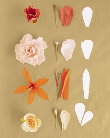 diy d co de mariage fleurs en papier cr pon le blog dioton. Black Bedroom Furniture Sets. Home Design Ideas