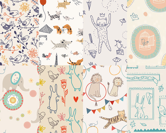 Sarah Betz - illustrations faire-part de naissance