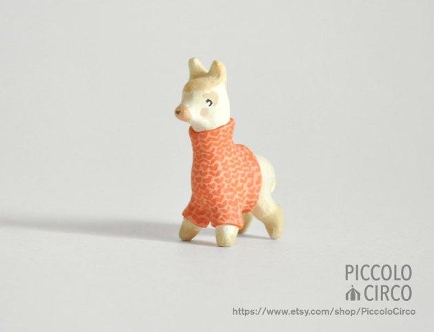figurine Alpaga