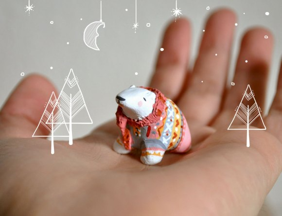 Figurine Ours blanc