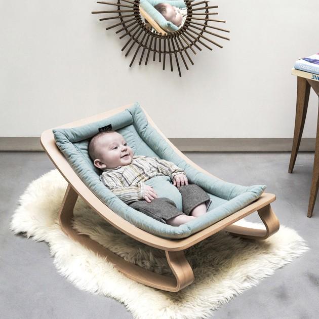 Transat bébé design LEVO Charlie Crane © Louise Desrosiers