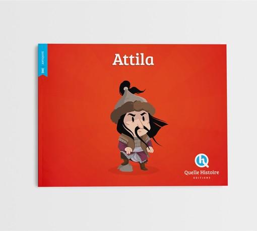 Livre pour enfant Attila