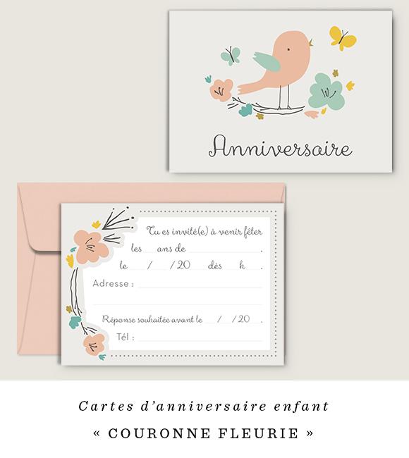cartes-anniversaire-enfant-Couronne-Fleurie-Dioton