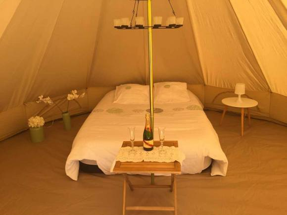 Mon wedding Camping - Suite nuptiale