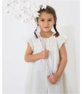 Robe de cérémonie blanche fille