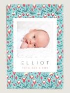 carte-anniversaire-fleurie-elisabeth-olwen-clochettes-personnalisee-recto