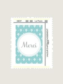 Timbres-personnalise-patapon-bleu-merci